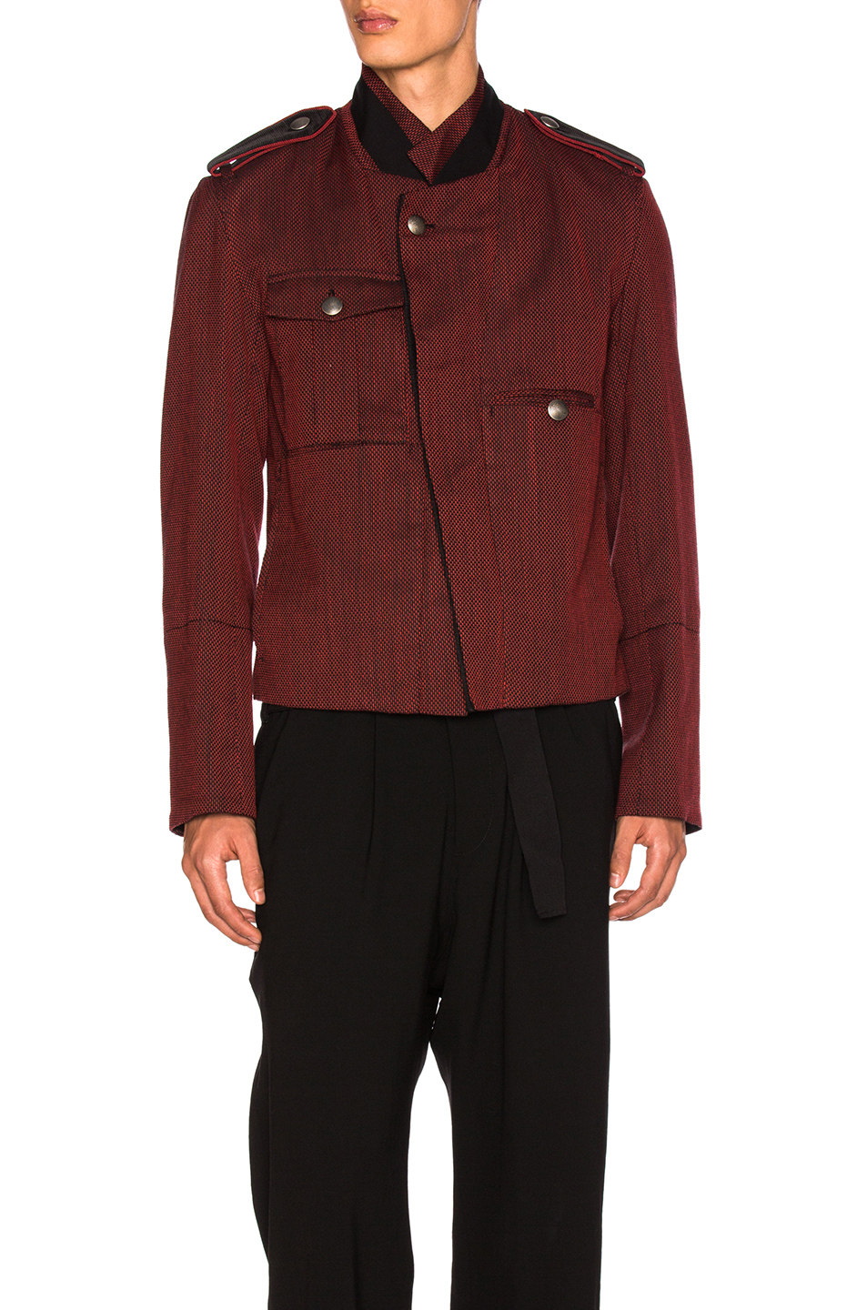 Ann Demeulemeester Blouson in Red
