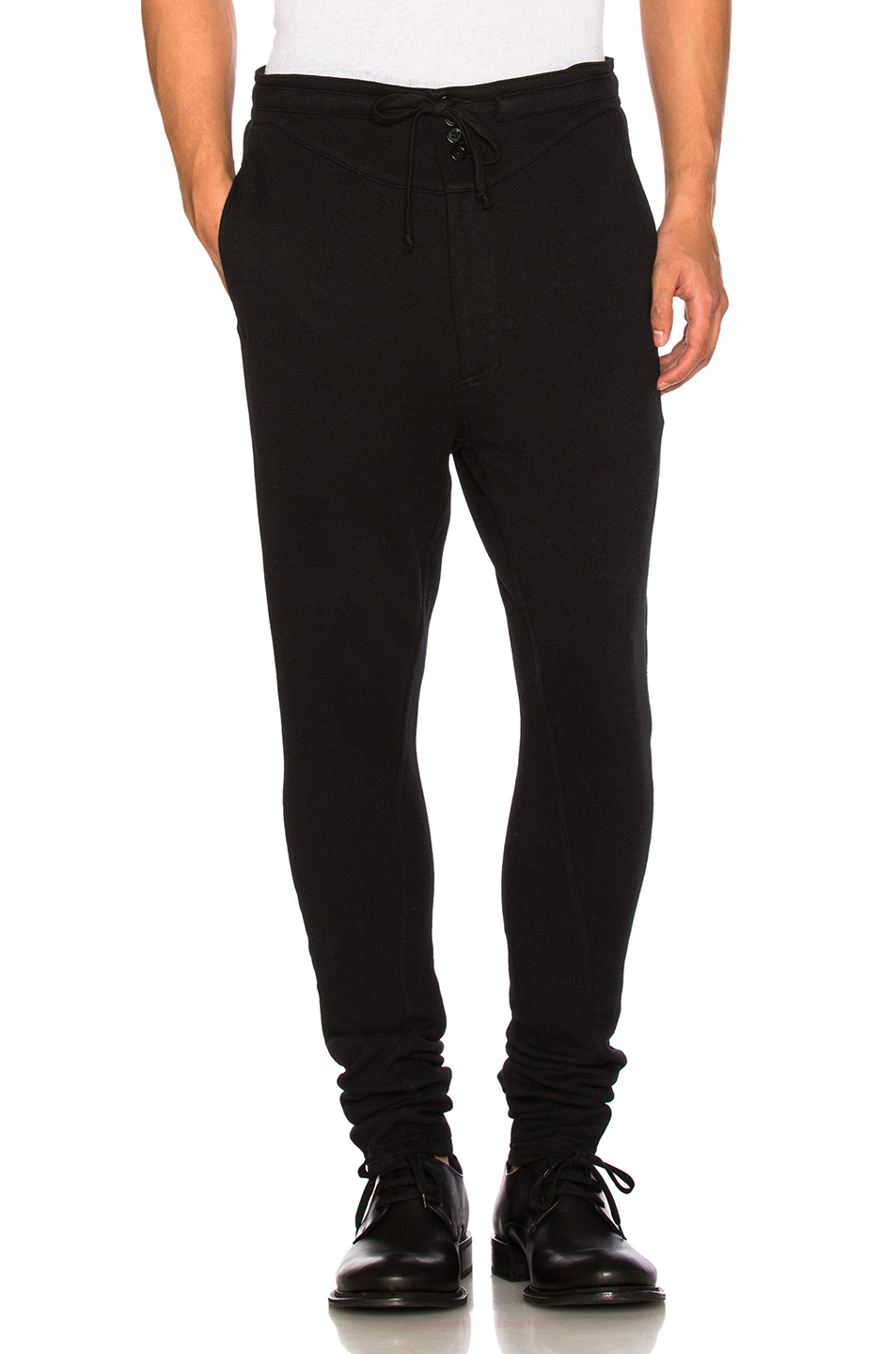 Ann Demeulemeester Sweatpants in Black