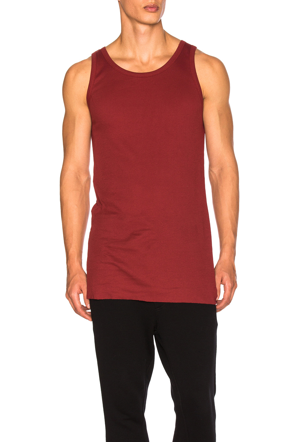 Ann Demeulemeester Tank in Red