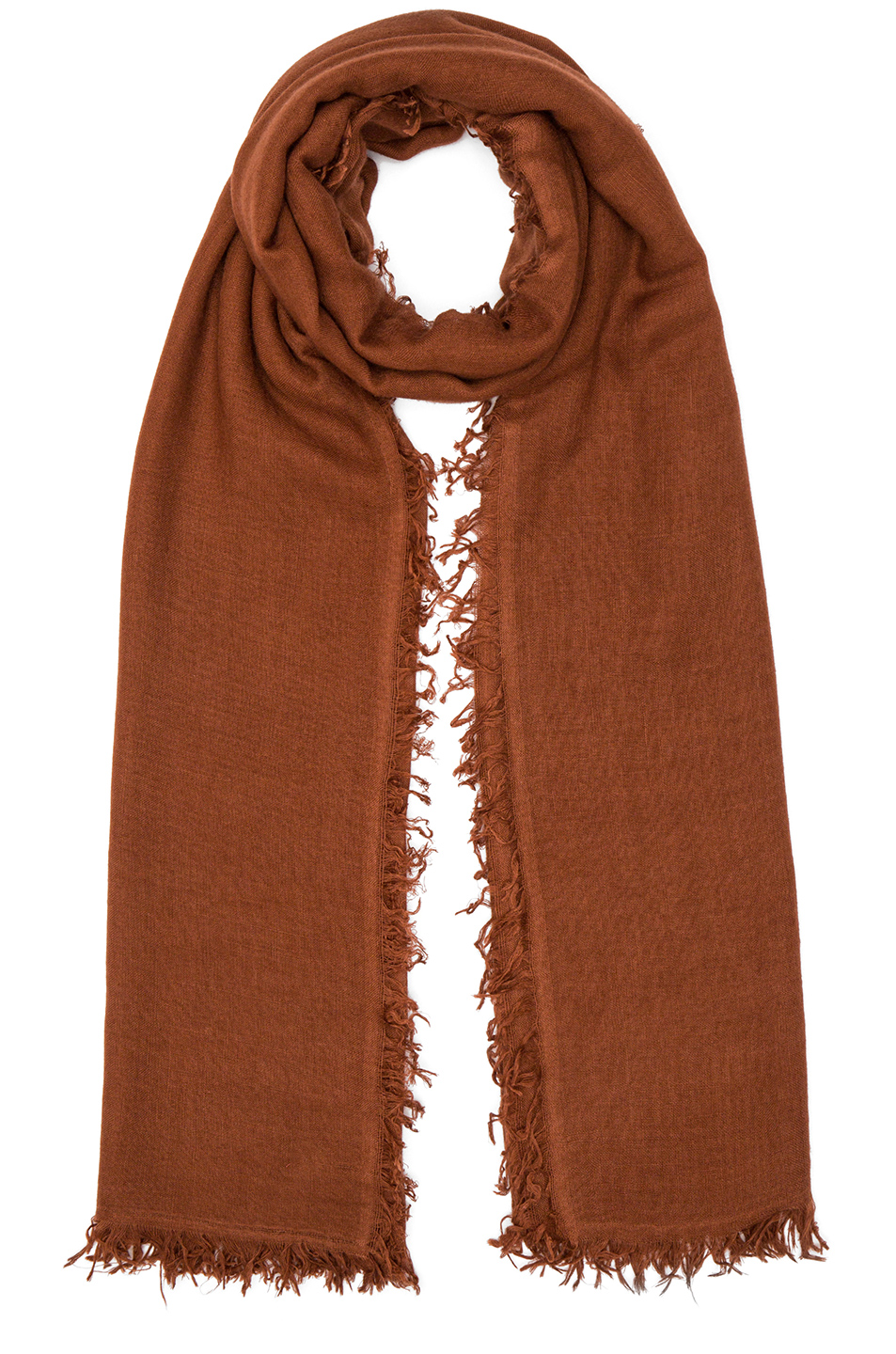 Ann Demeulemeester Scarf in Brown
