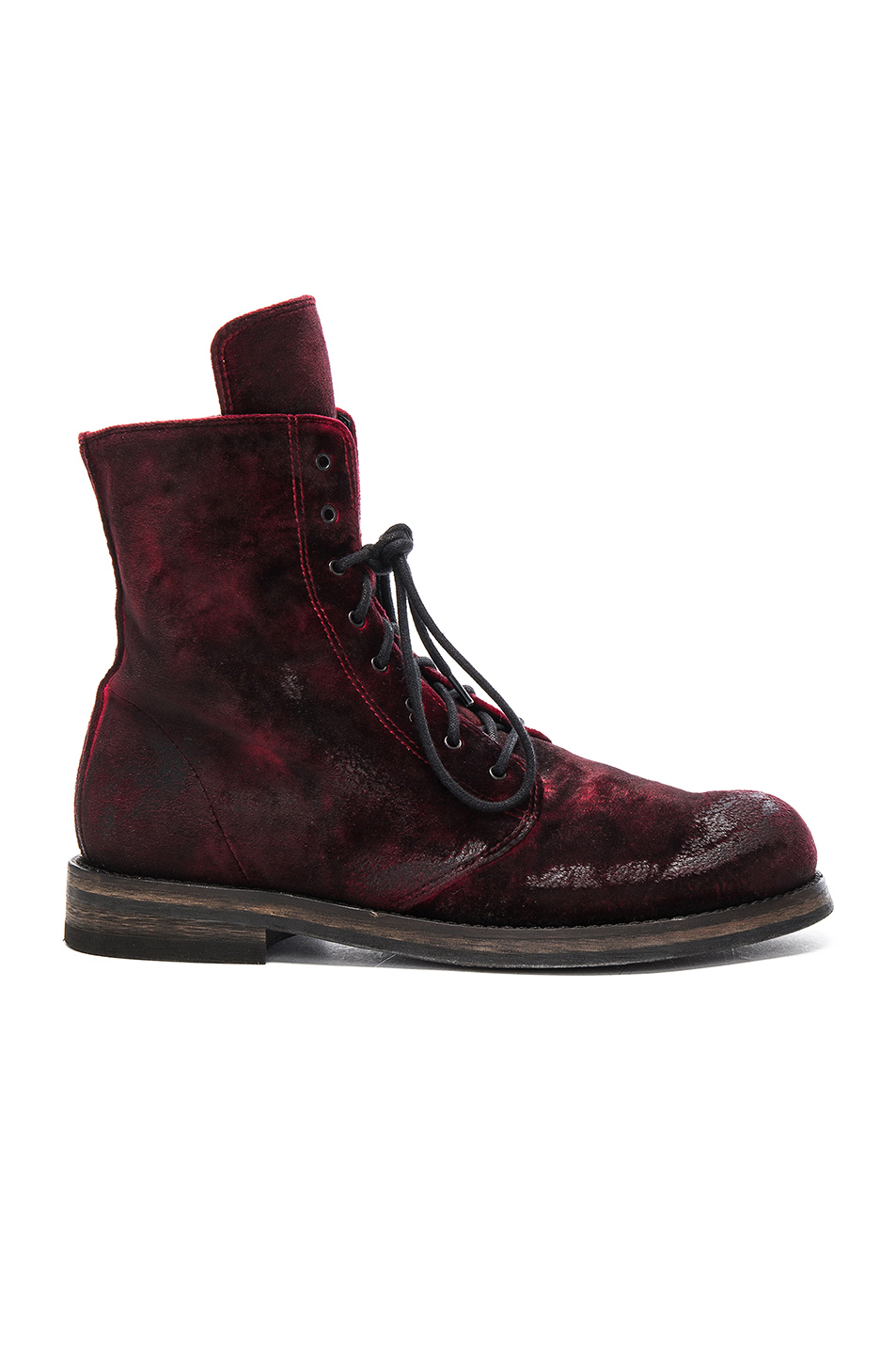 Ann Demeulemeester Boot in Red