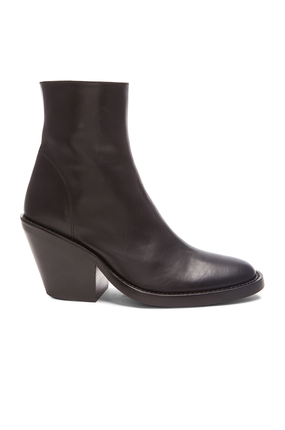 Photo of Ann Demeulemeester Boots in Black shop Ann Demeulemeester shoes