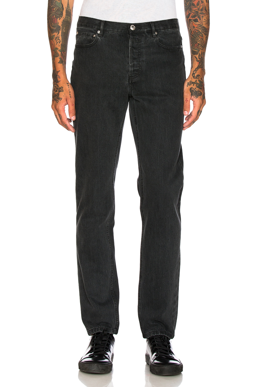 Photo of A.P.C. Low Standard in Black - shop A.P.C. menswear