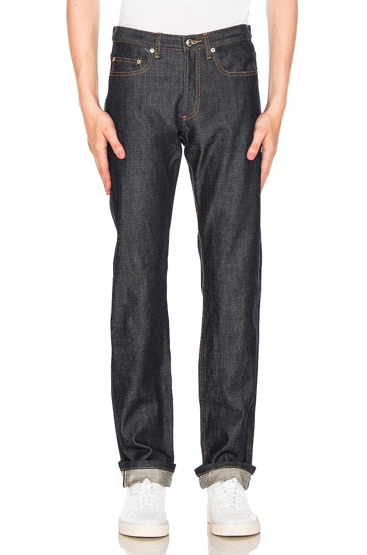 A.P.C. Petit Standard Jean in Blue