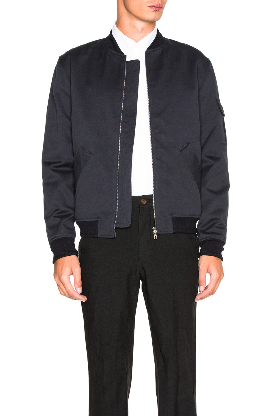 A.P.C. Alain Jacket in Blue