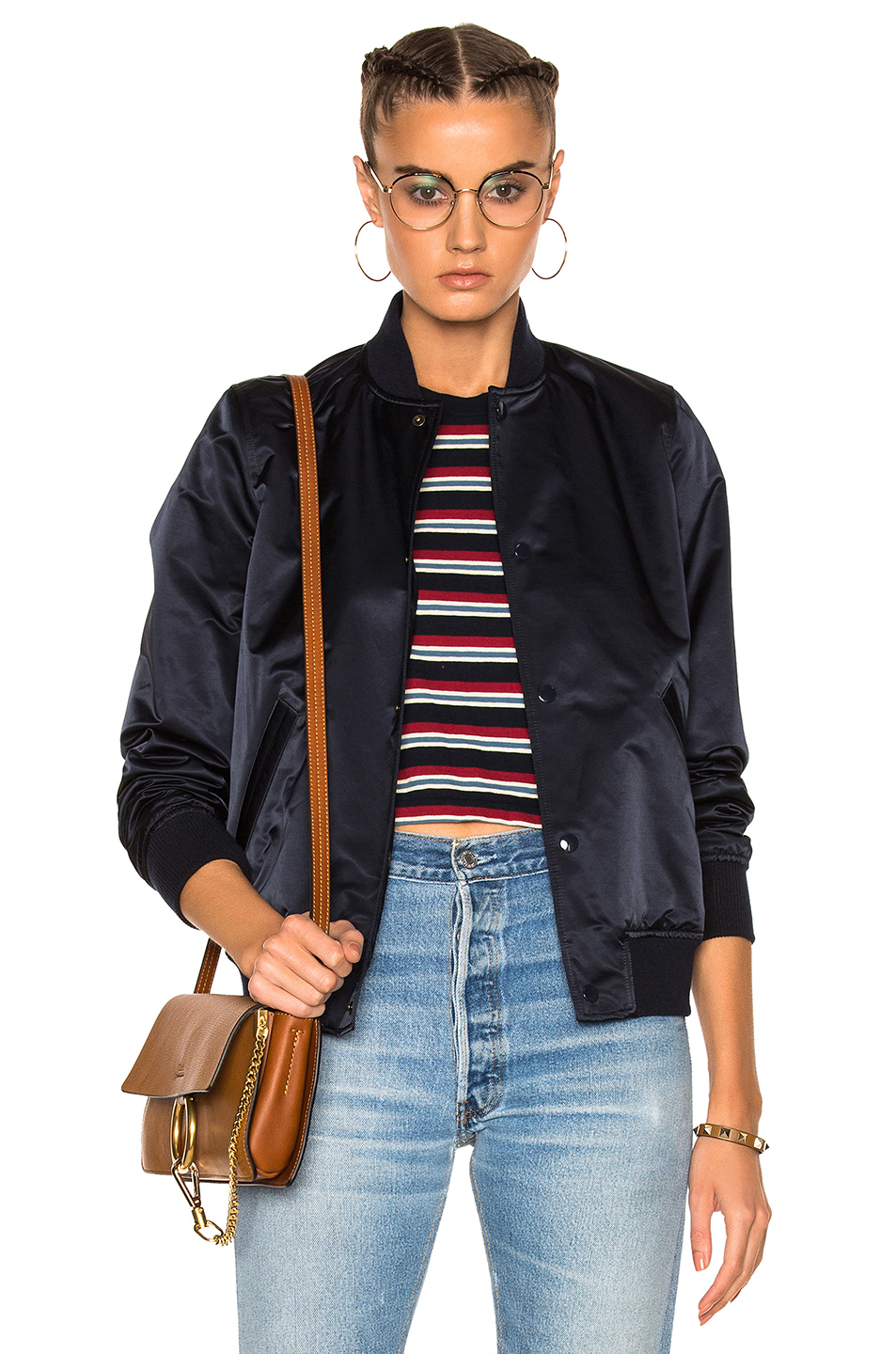 A.P.C. Bomber Jacket in Blue