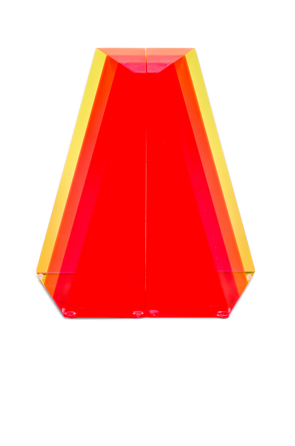 Alexandra Von Furstenberg Fearless Prism Bookends in Red,Neon,Stripes