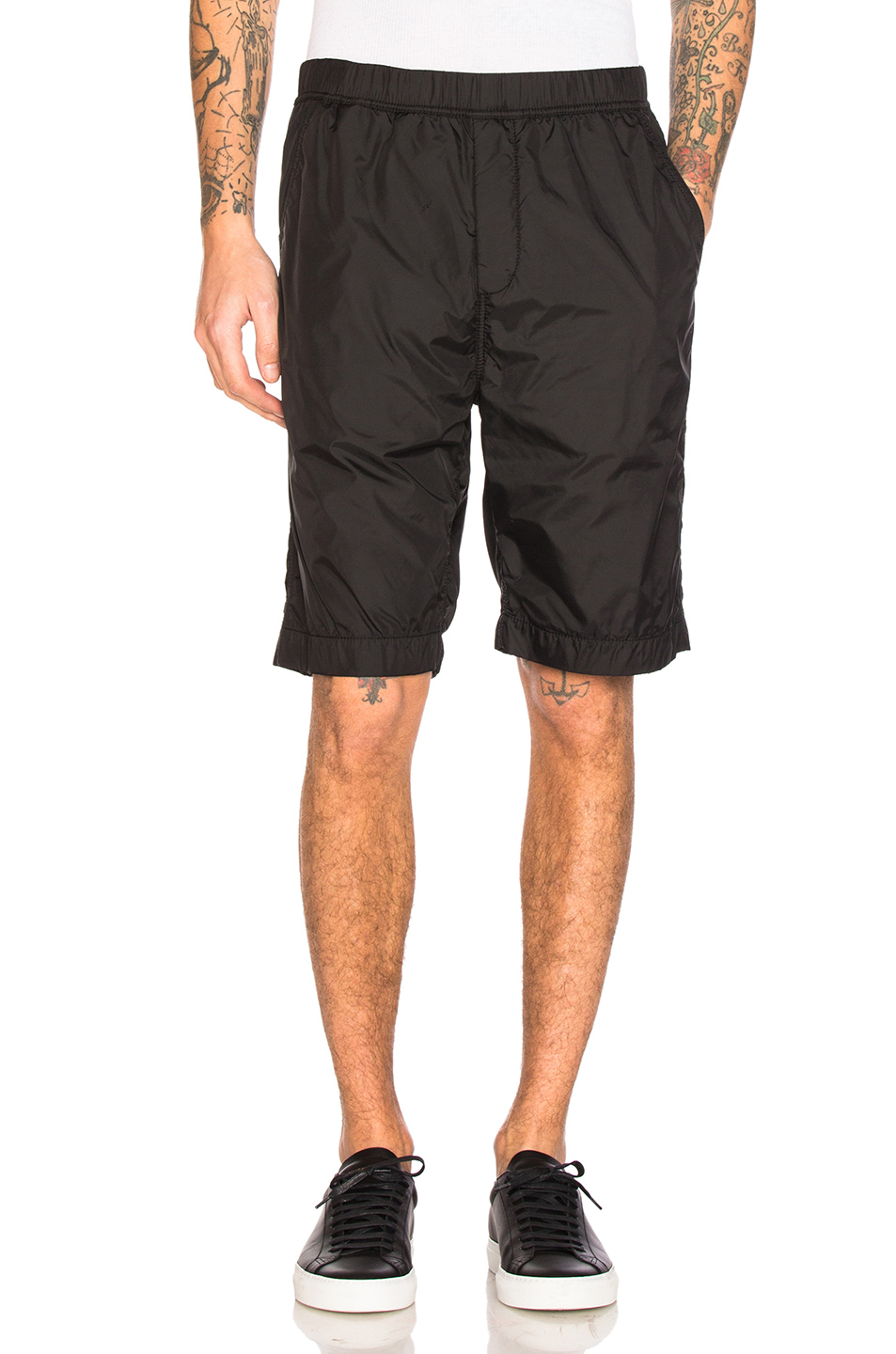 Alexander Wang Track Shorts in Black