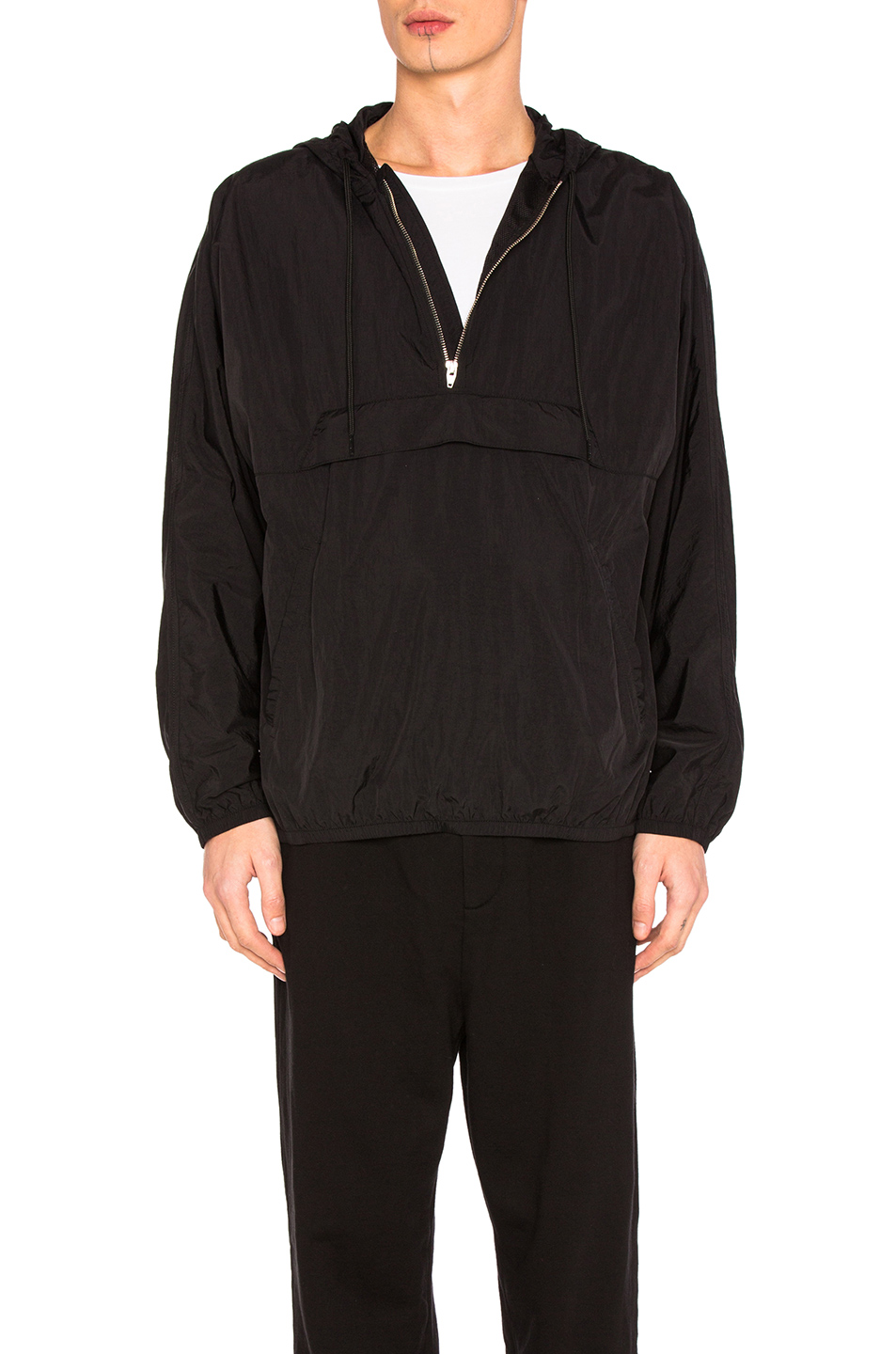 Alexander Wang Beach Anorak in Black