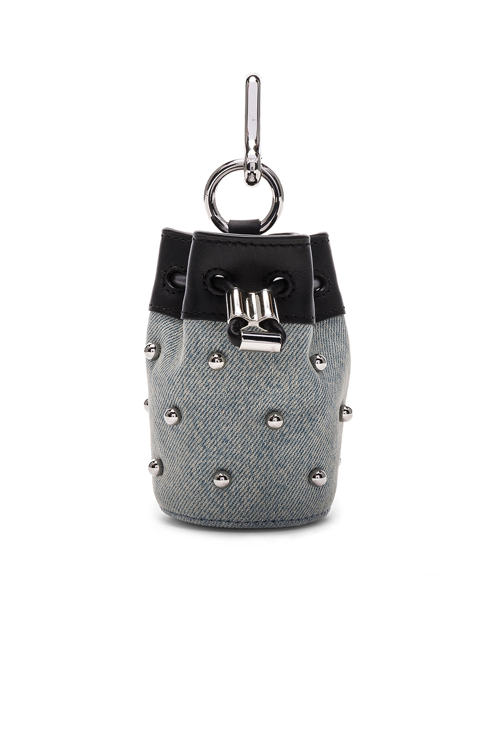 Alexander Wang Mini Roxy Stud Keychain in Blue