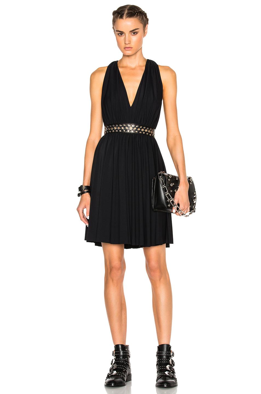 Photo of Alexander Wang Grommet Mini Dress in Black online sales