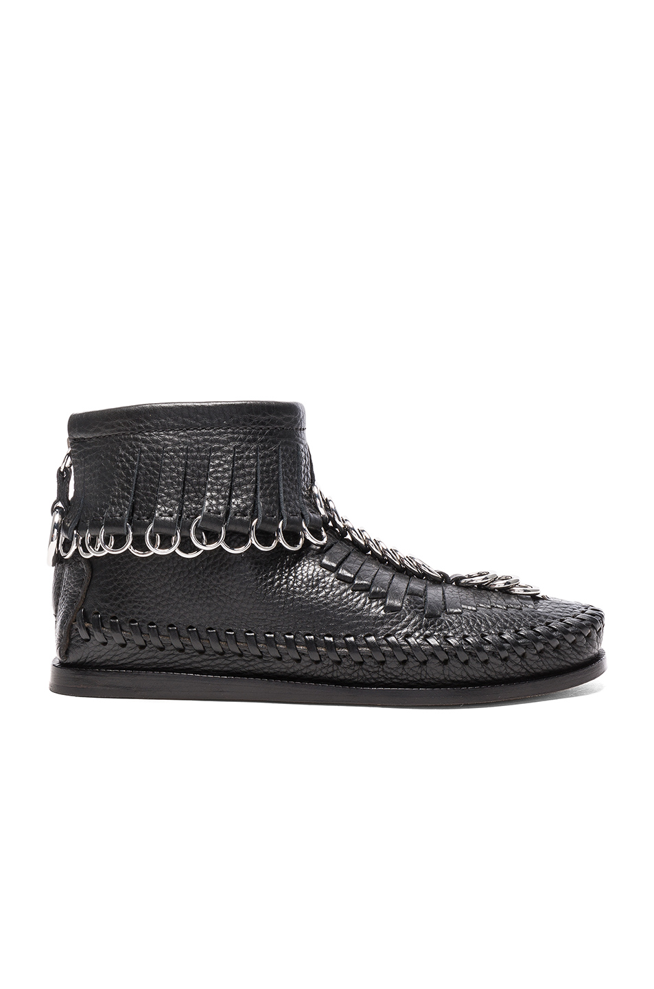 Alexander Wang Leather Montana Boots in Black