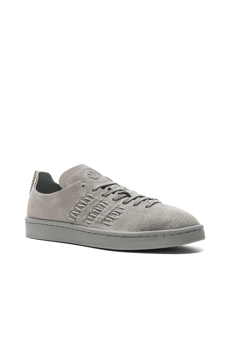 adidas by wings + horns Leather Campus Sneakers in Gray