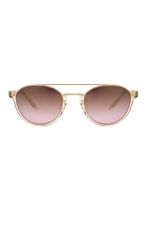 Barton Perreira for FWRD Boleyn Sunglasses in Metallics