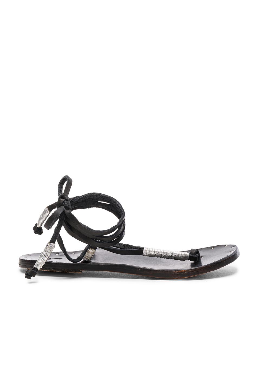 Beek The Crane Sandals in Black
