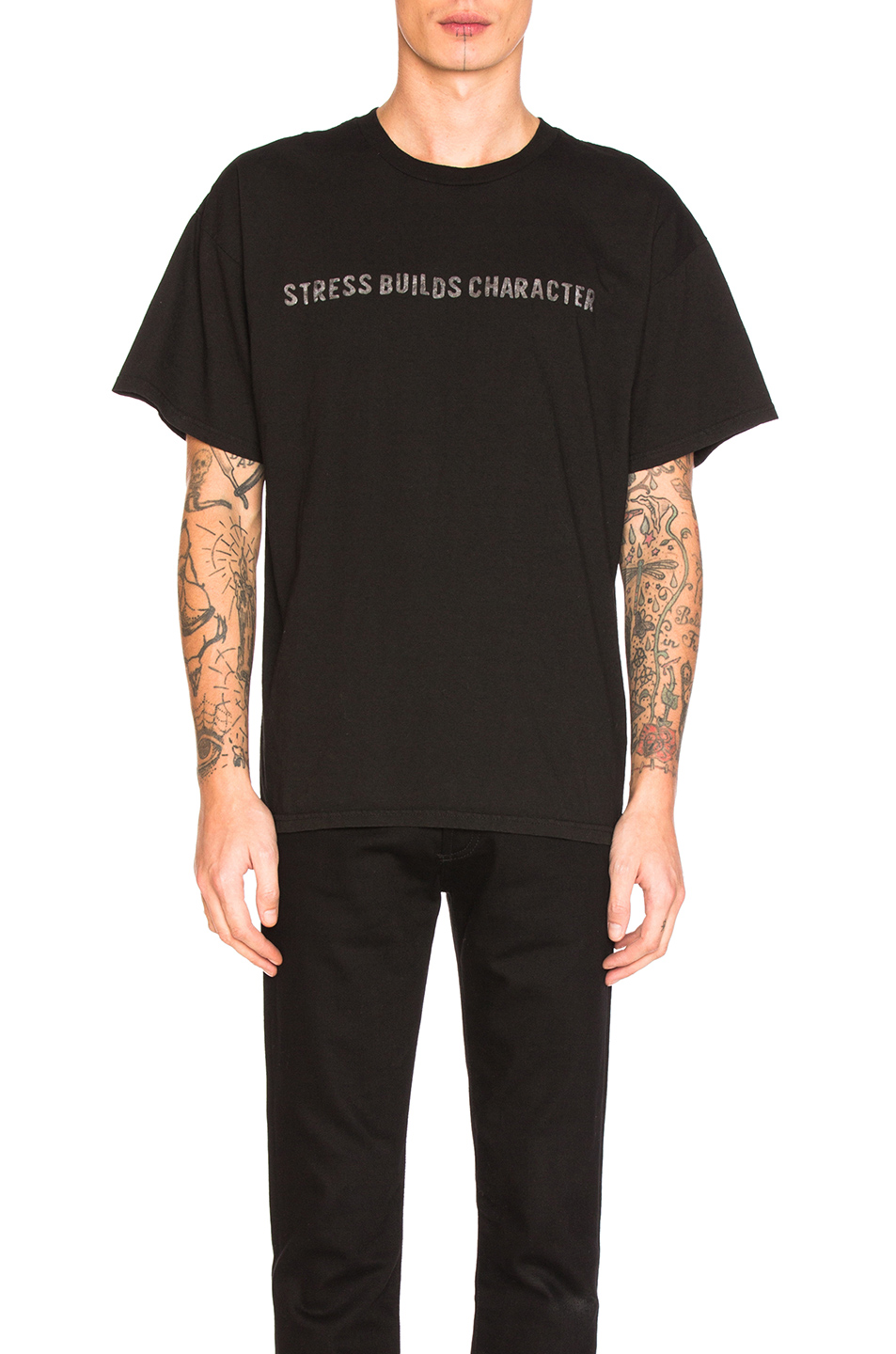 Blackfist Stress Tee in Black