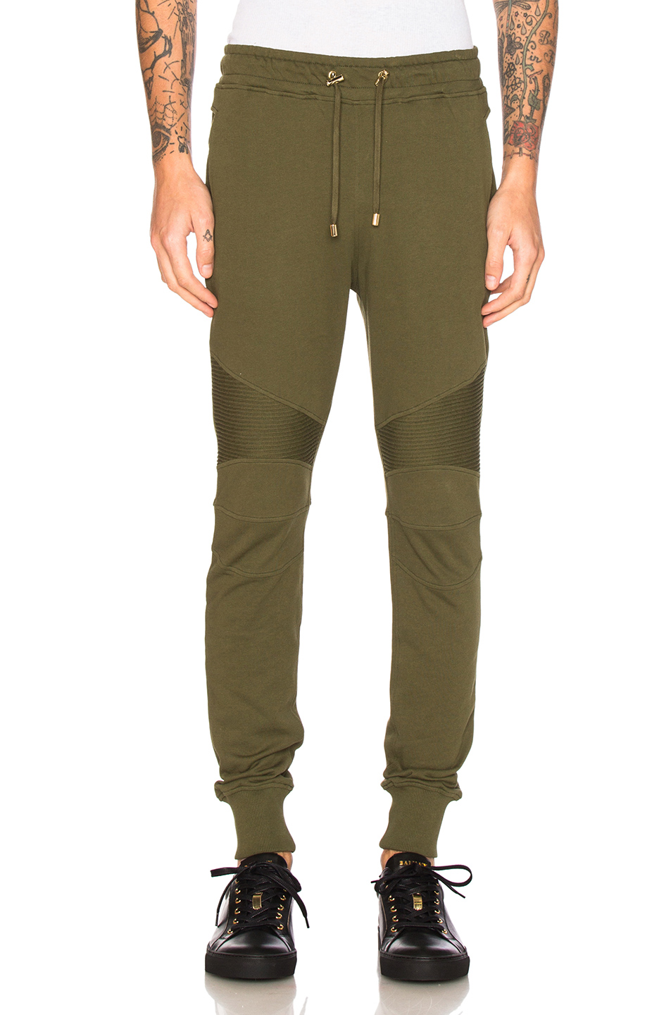 BALMAIN Sweatpants in Green
