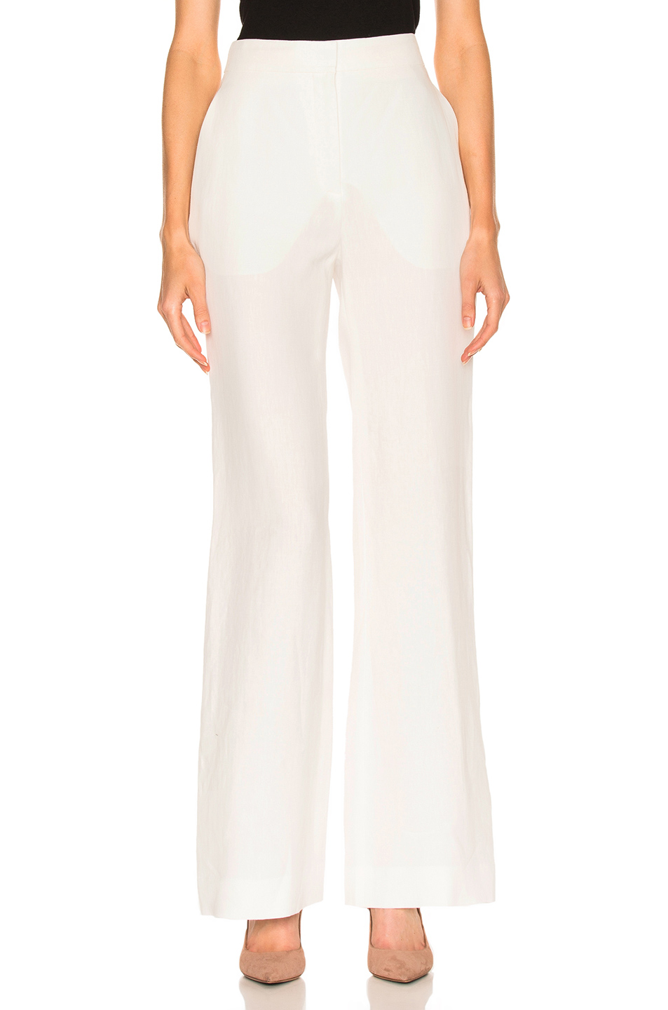 Brock Collection Pamela Pant in White