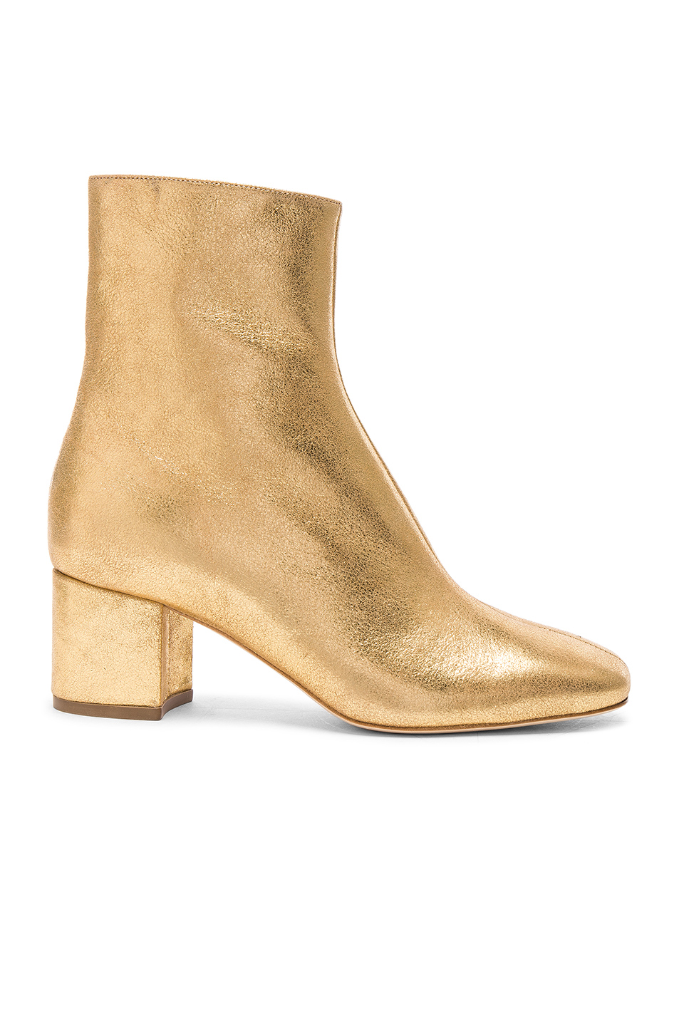 Brother Vellies Leather Kaya Boots in Metallics