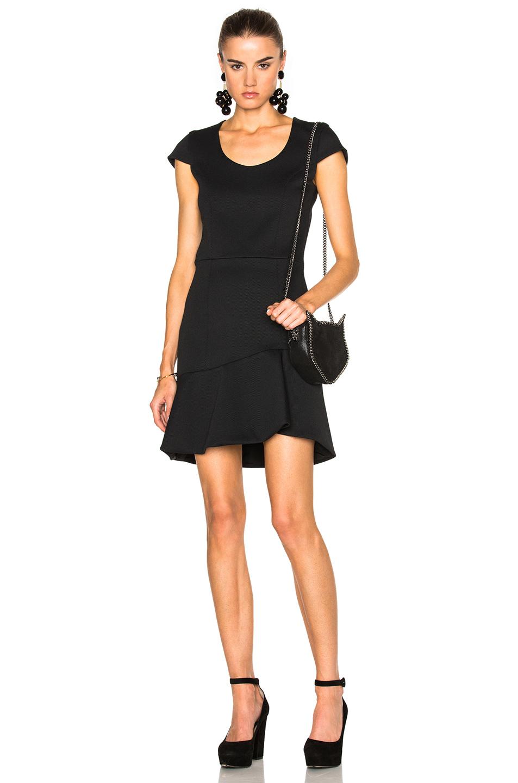 Photo of Carven Flared Hem Dress in Black online sales