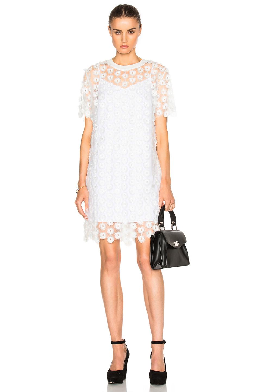 Photo of Carven Mini Dress in White online sales