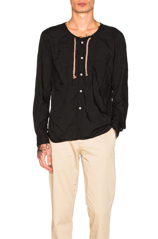 Comme Des Garcons Homme Plus Ester Broad Shirt in Black