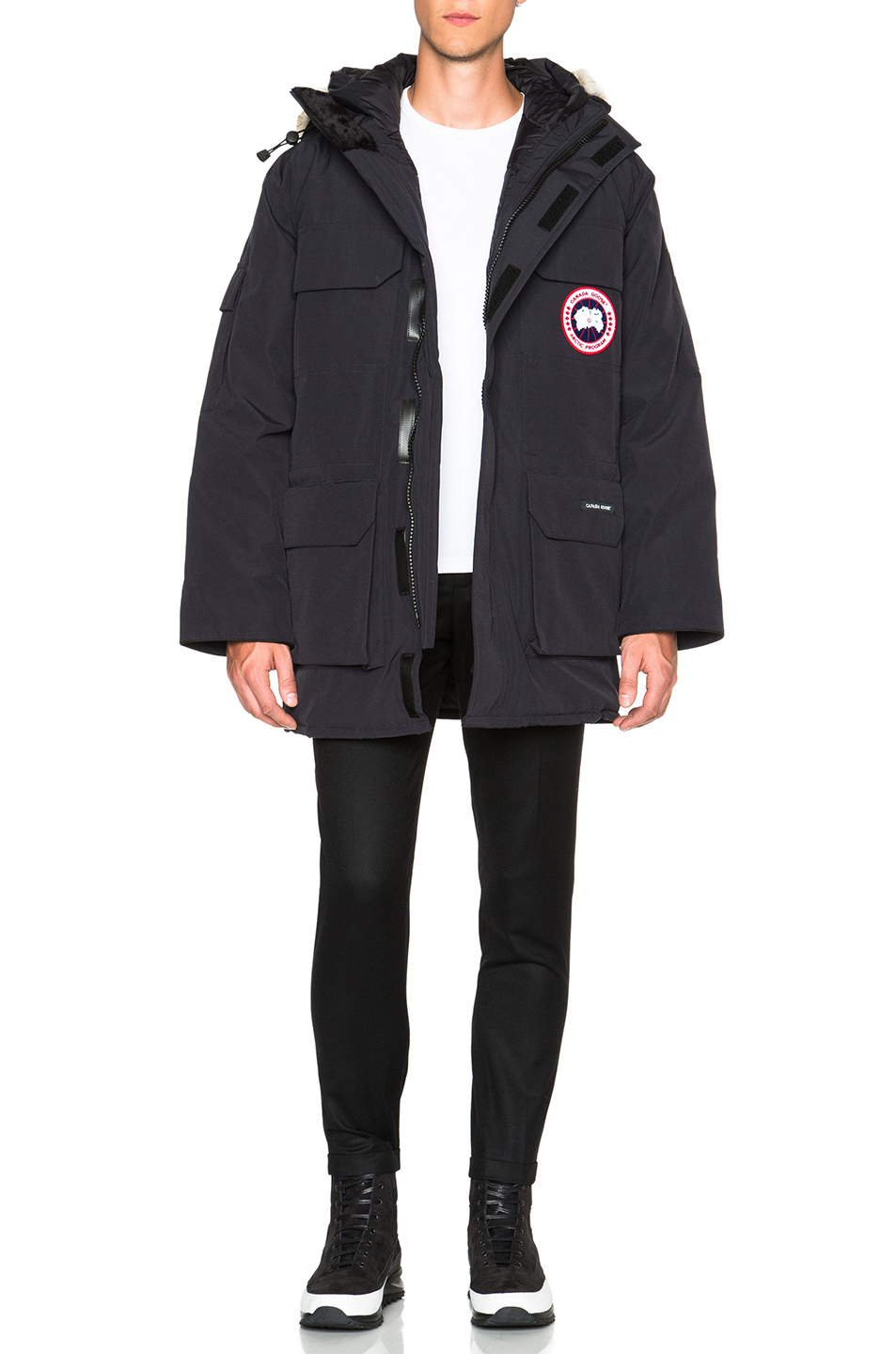 Canada Goose Expedition Poly-Blend Parka in Blue