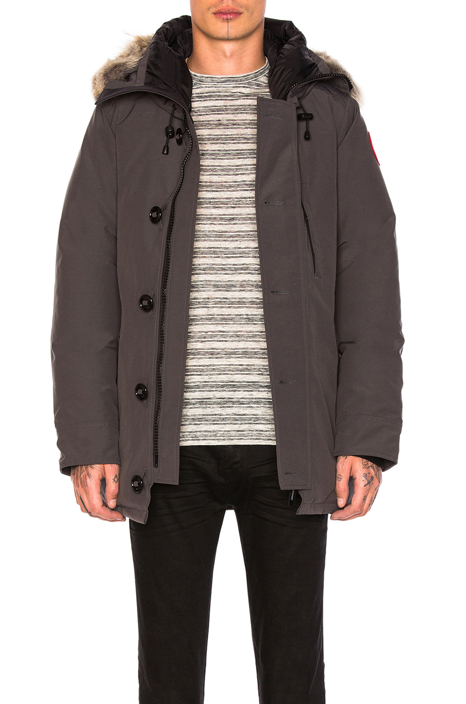 Canada Goose Chateau Parka in Gray