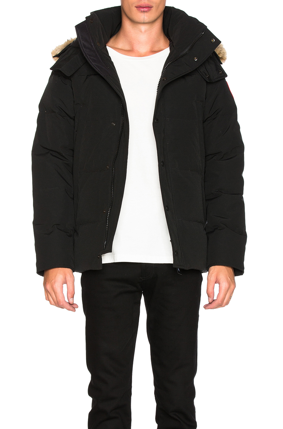 Canada Goose Wyndham Parka in Black