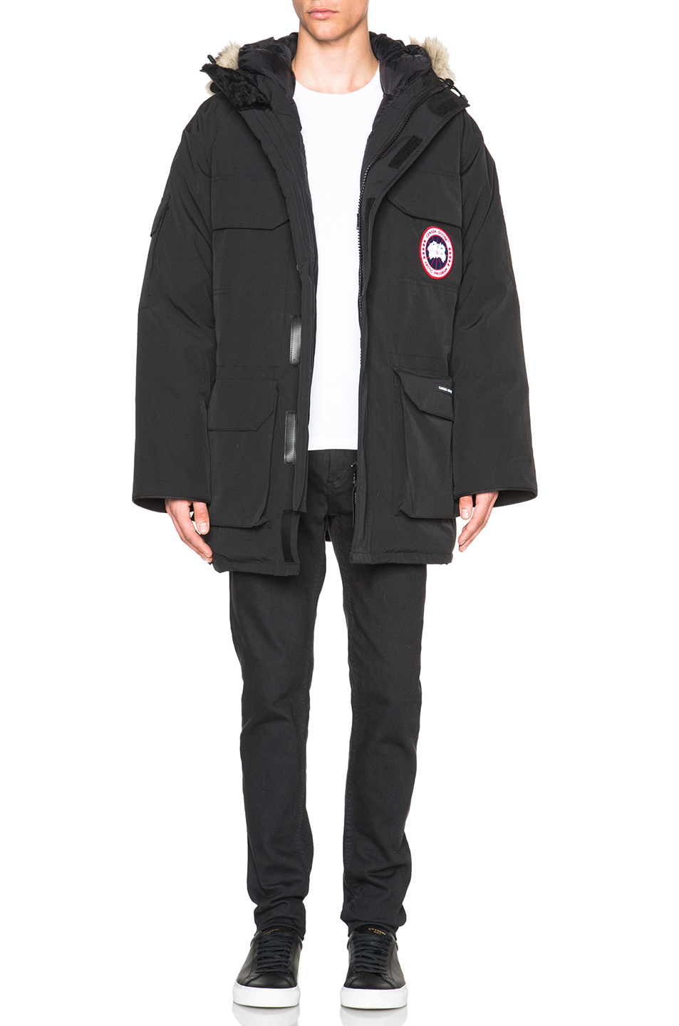Canada Goose Expedition Poly-Blend Parka in Black