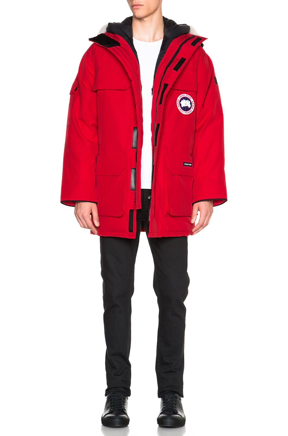 Canada Goose Expedition Poly-Blend Parka in Red