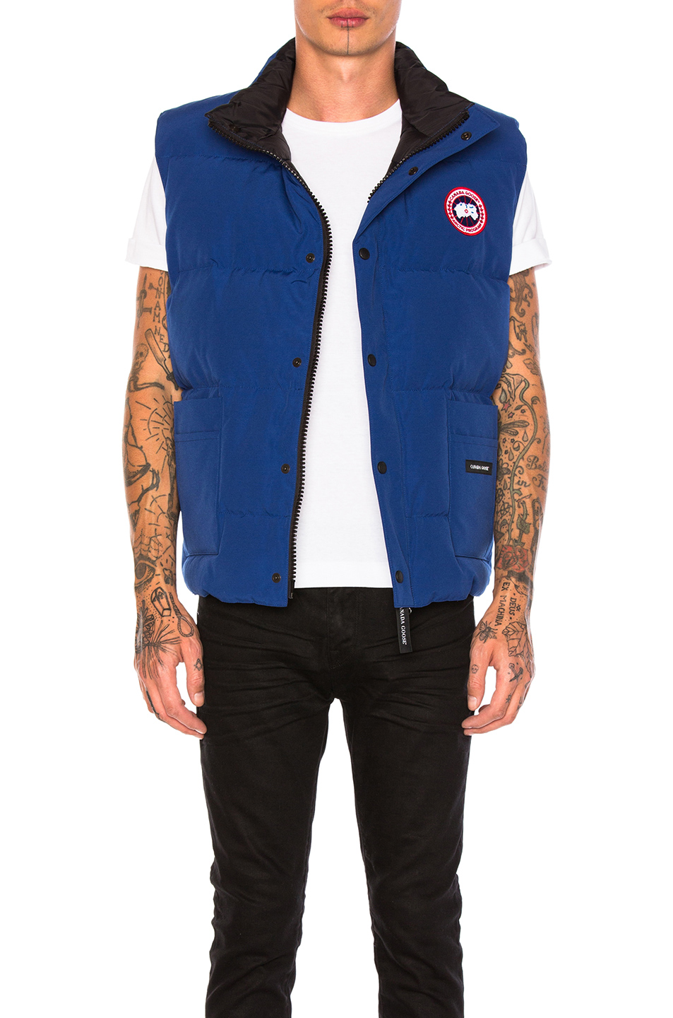Canada Goose Freestyle Poly-Blend Vest in Blue