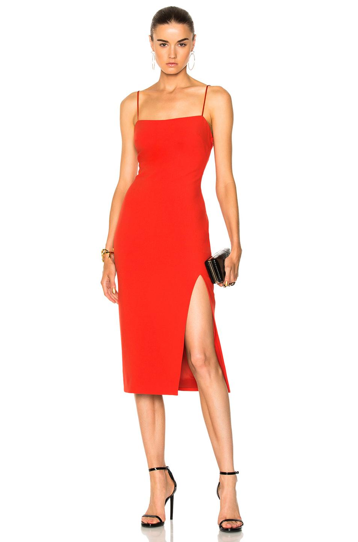 Cinq a Sept Cairen Dress in Red
