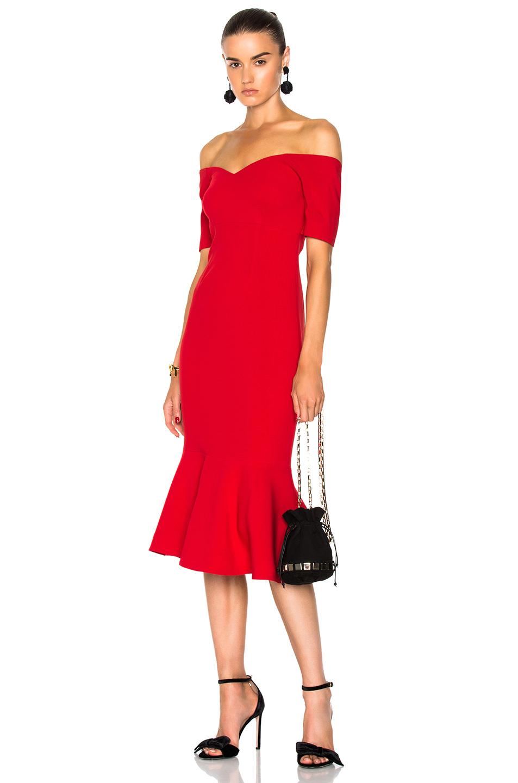 Cinq a Sept Marta Dress in Red