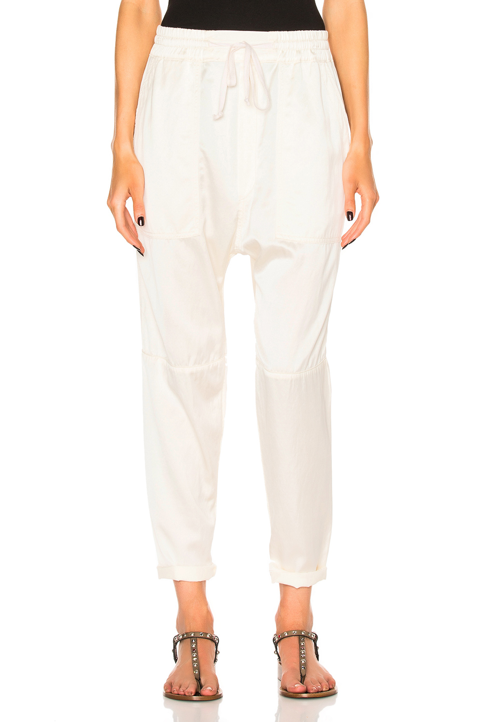 Citizens of Humanity Sadie Pull On Pant in Neutrals,White