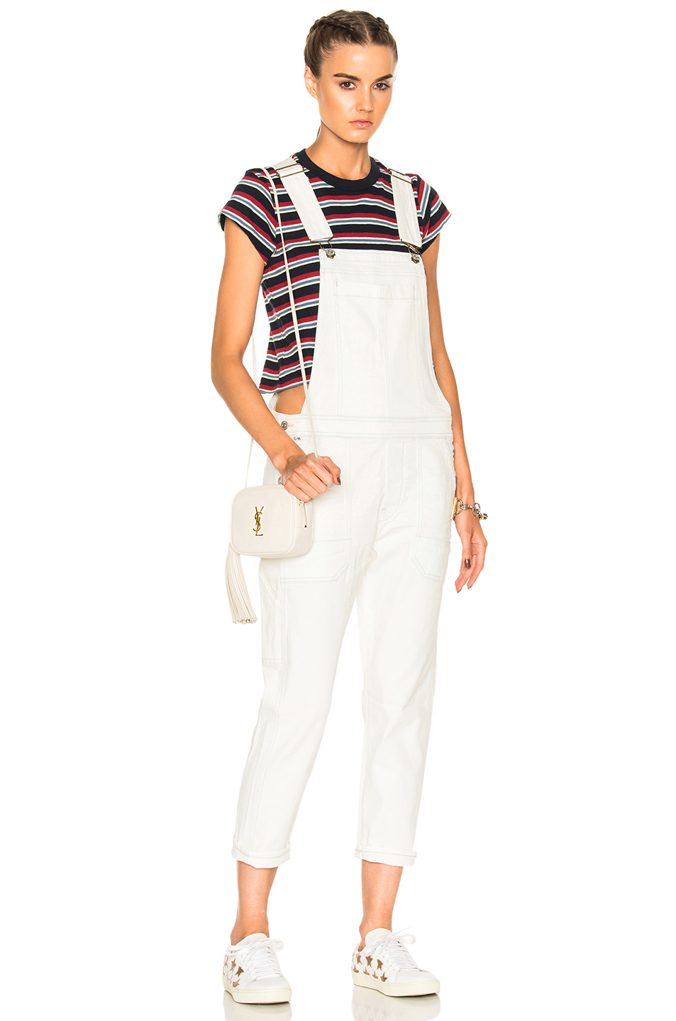 Citizens of Humanity Audrey Overall in White