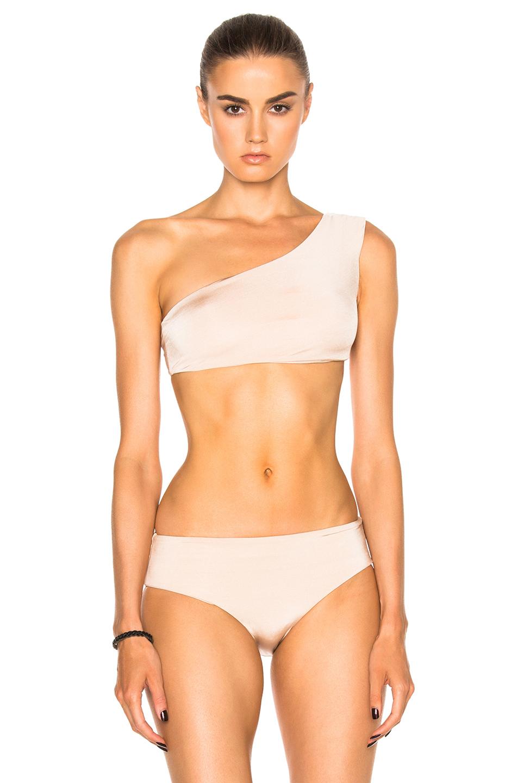 Cali Dreaming Sombrero Bikini Top in Neutrals