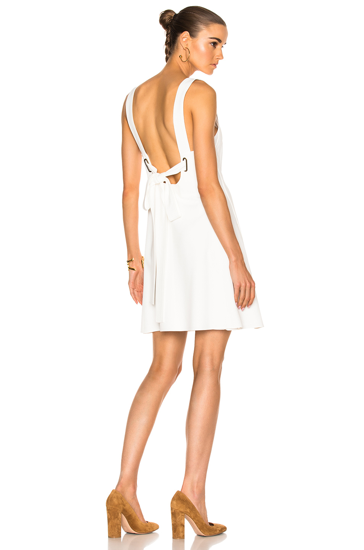 Chloe Light Cady Dress in White