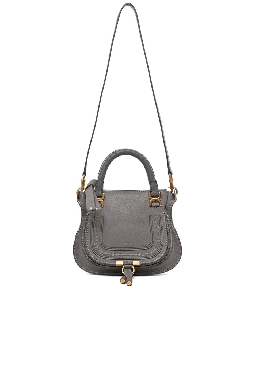 chloe mini marcie bag in cashmere grey 5. Black Bedroom Furniture Sets. Home Design Ideas