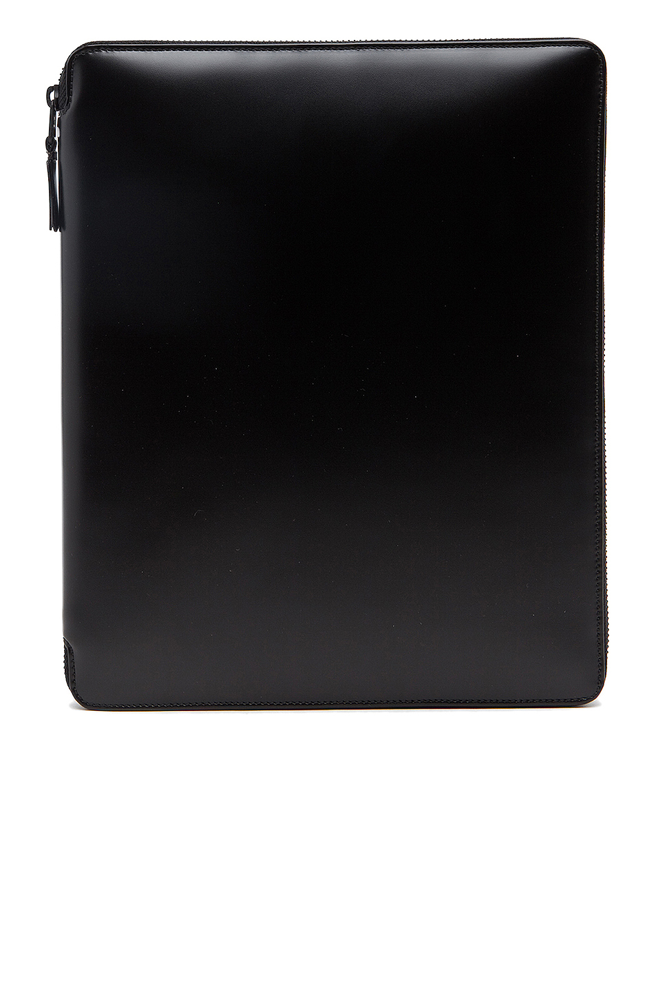 Comme Des Garcons Luxury Leather iPad Case in Black