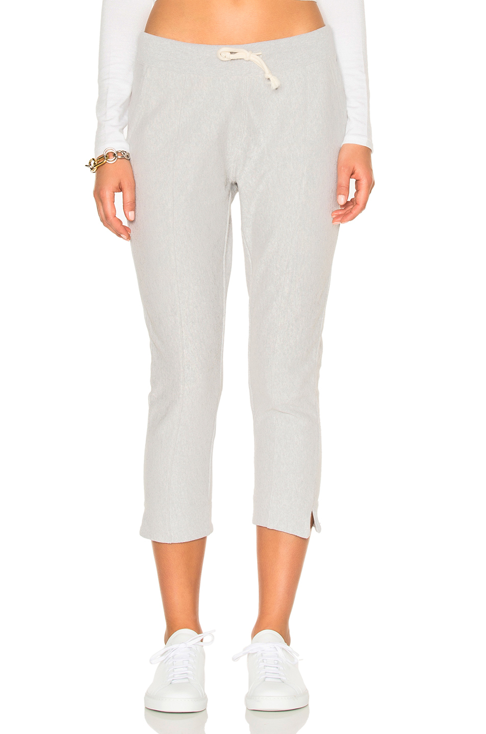 Champion Crop Pants in Gray