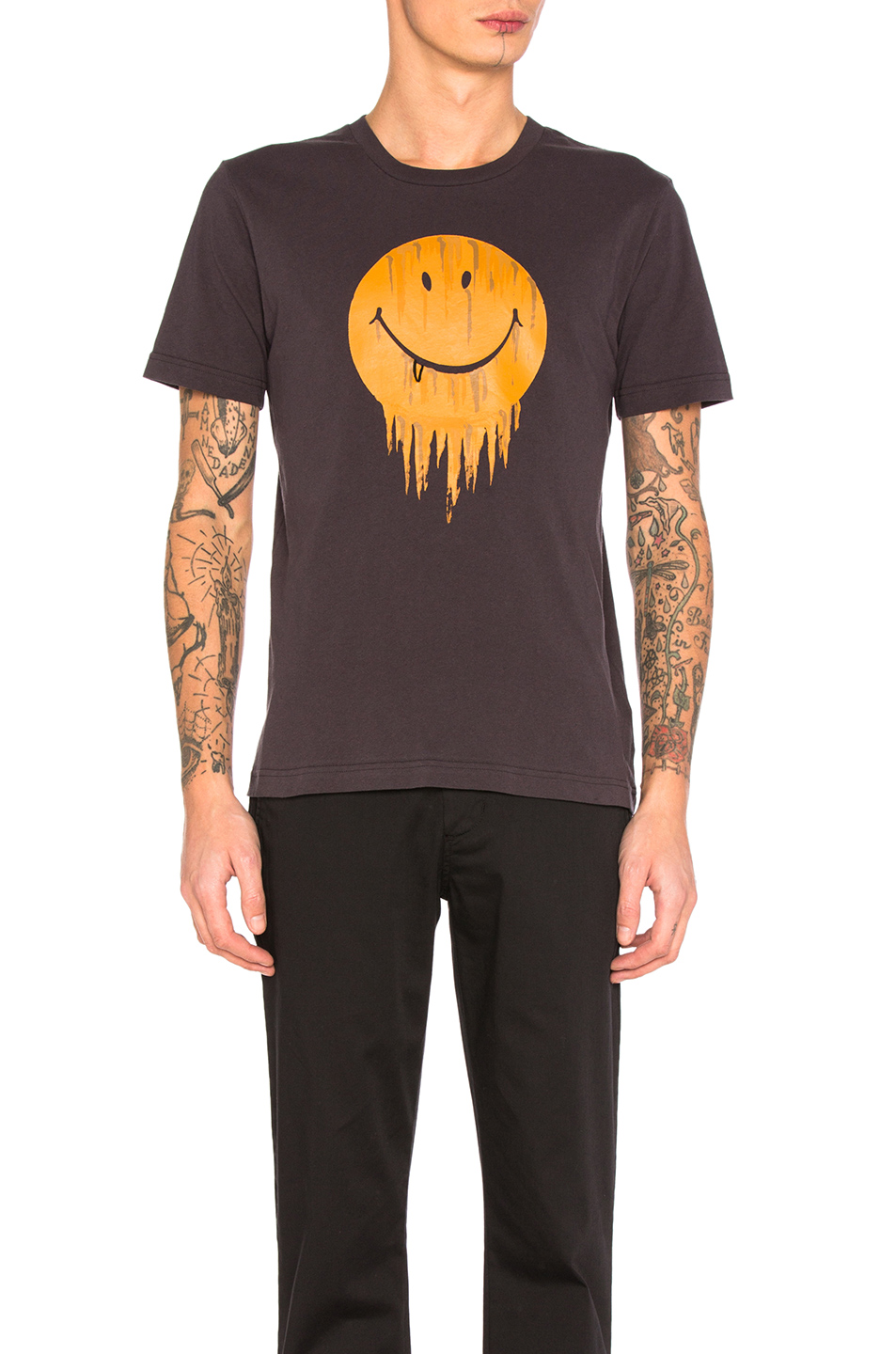Coach 1941 Gnarly Face Tee in Black