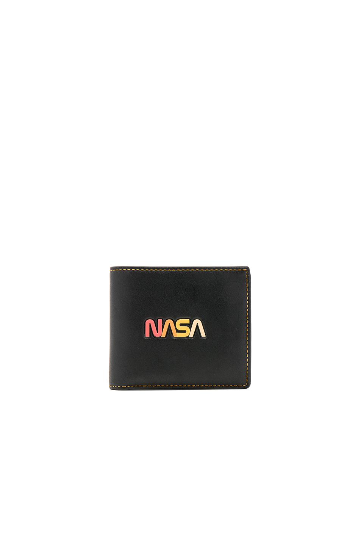 Coach 1941 NASA Embellished 3 in 1 Wallet in Black