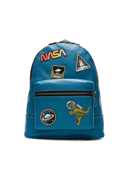 Coach 1941 NASA Embellished Backpack in Blue