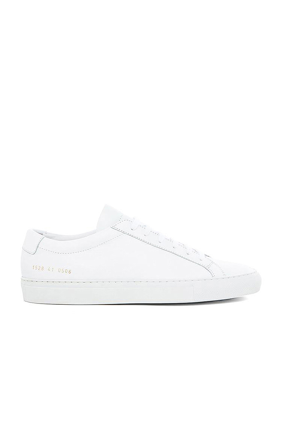 Common Projects Original Achilles Leather Low Tops in White