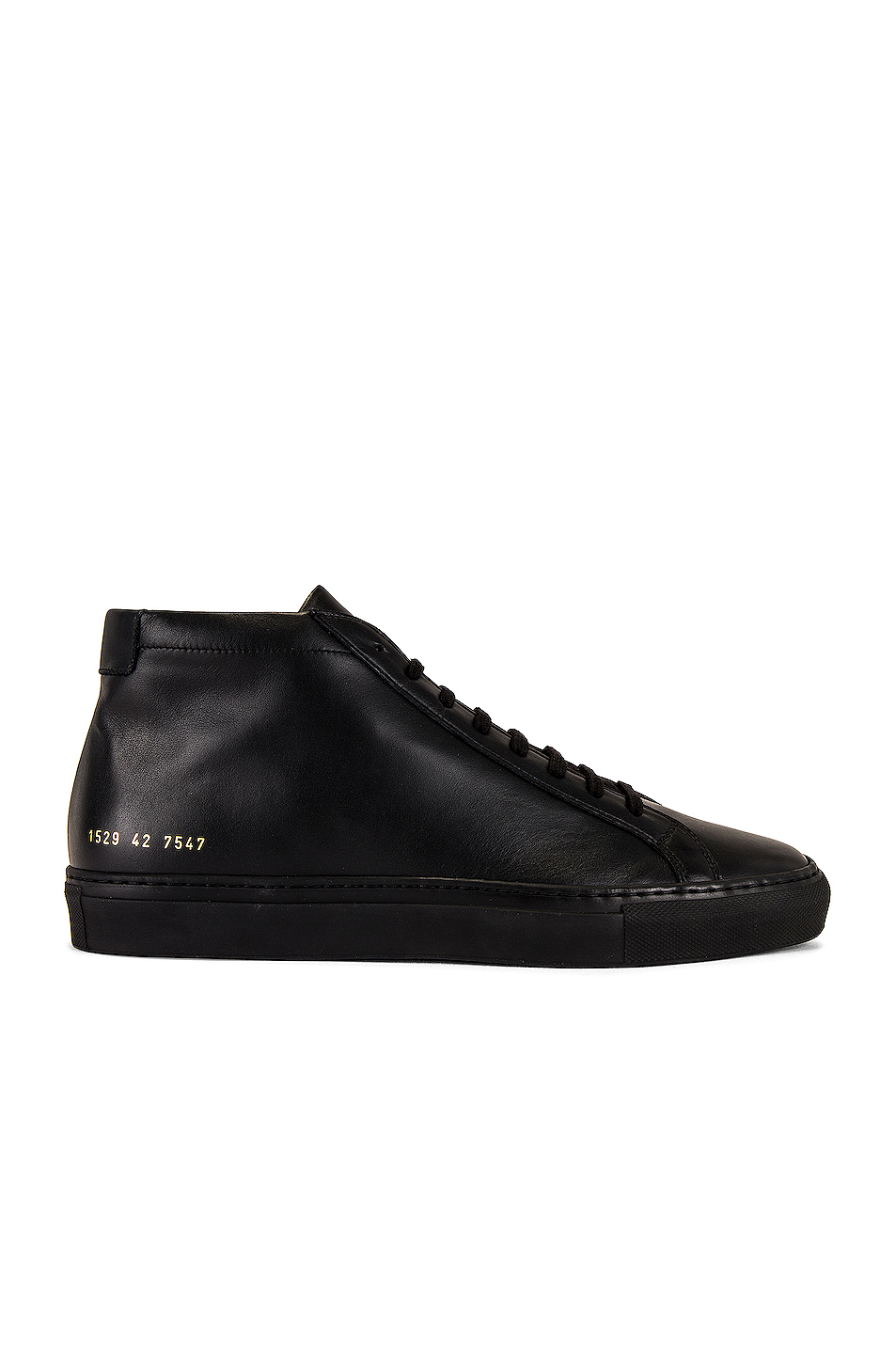 Common Projects Original Achilles Mid Tops in Black