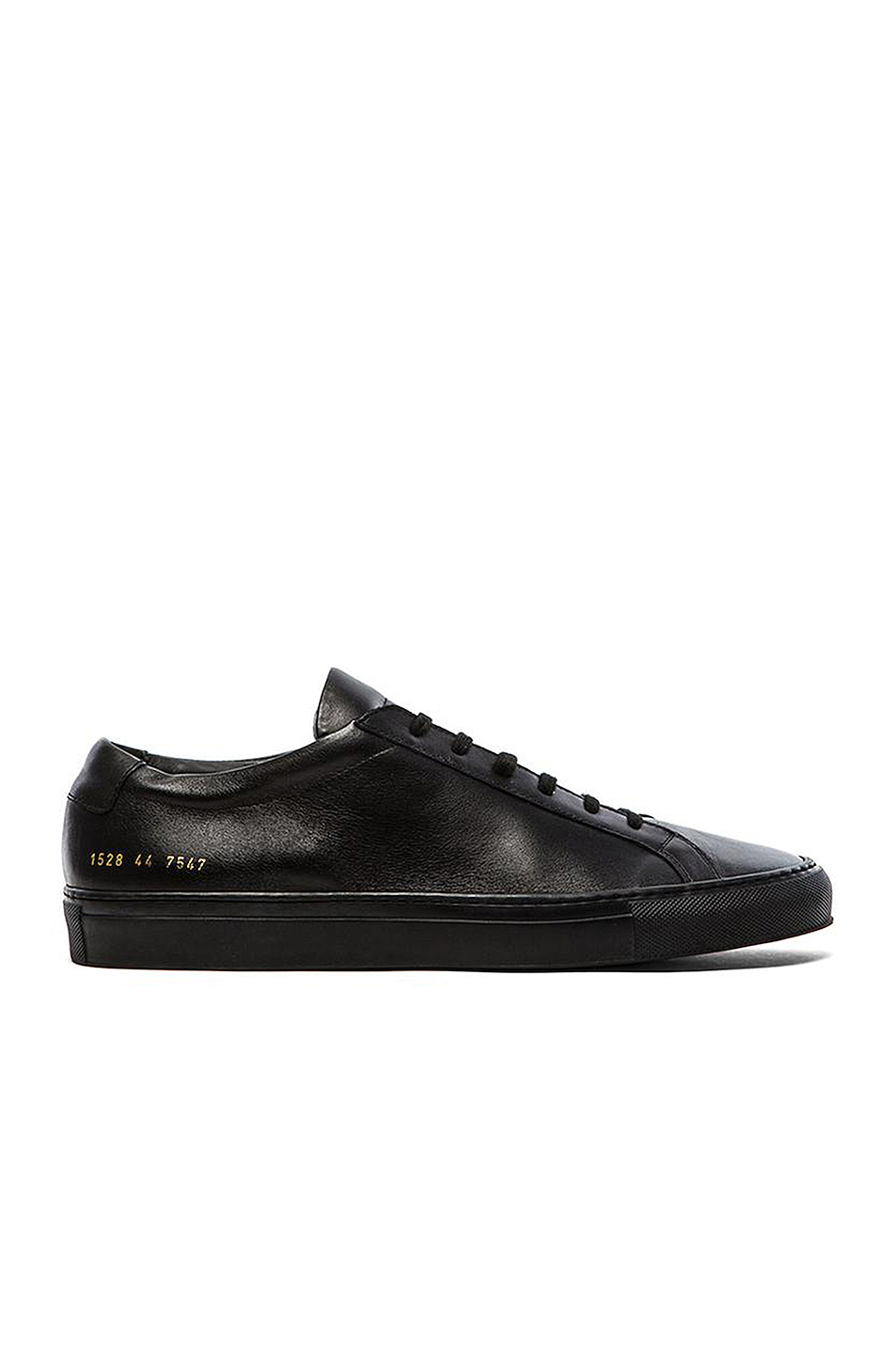 Common Projects Original Achilles Low Tops in Black