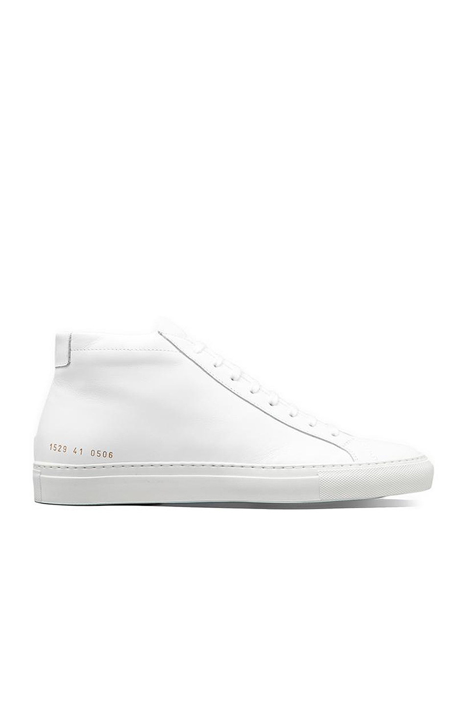 Common Projects Original Achilles Leather Mid Tops in White