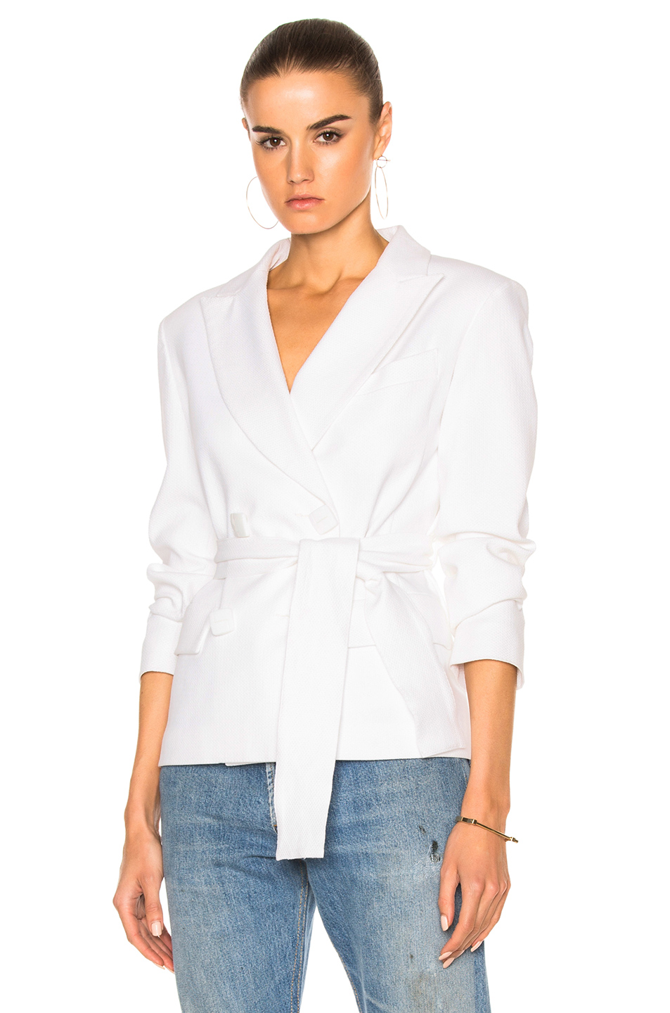 Carolina Ritzler Marie Francoise Jacket in White