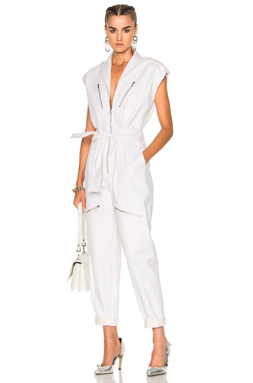 Carolina Ritzler Bathilde Jumpsuit in White